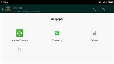 wallpaper untuk chat cara mengganti wallpaper atau background chat whatsapp