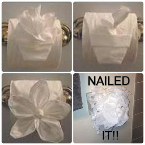 How To Fold Toilet Paper Fancy - 17 best images about toilet paper folds on