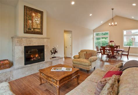 houzz great rooms great room traditional family room seattle by lakeville homes