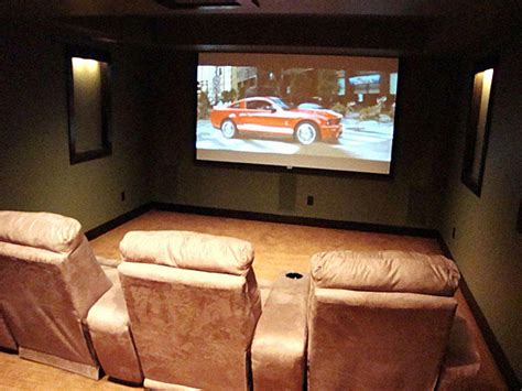 built in home theater system blueprint audio