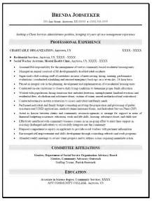 social work resume template resume sle for social worker resume caseworker resume