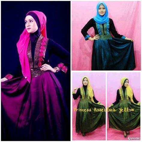 Best Seller Gamis Syari Enisa Fanta Baju Gamis Pesta Mode Baju Musli busana muslim koleksi terbaru