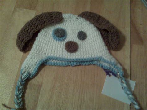 free crochet puppy pattern knitted hats patterns free images