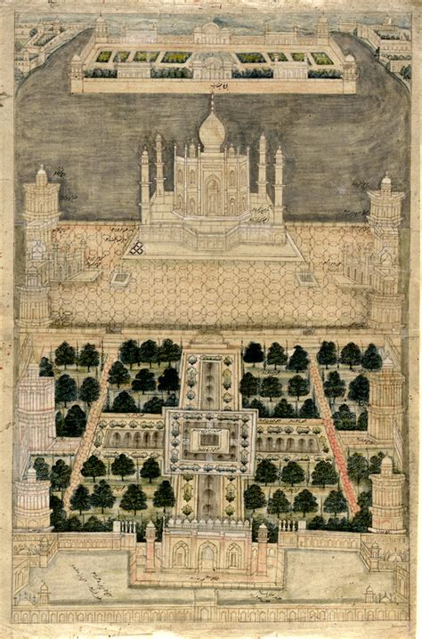 Taj Mahal Garden Layout Offbeat Agra Beyond Taj Mahal