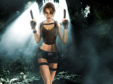 wallpaper game hot o0serenityangel0o videogame vixens 1st look tomb raider