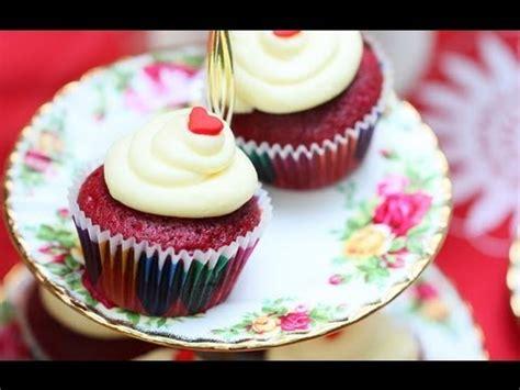 cara membuat cheese cupcake cara membuat red velvet cupcake youtube