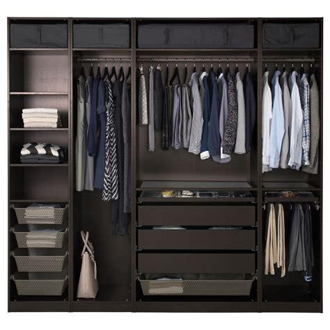 ikea planner guardaroba pax guardaroba marrone nero nel 2019 my things closet