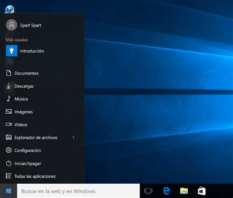 imagenes windows 10 inicio configurar el men 250 inicio en windows 10 para pc todas las
