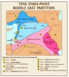 middle east map after the middle east maps sykes picot map