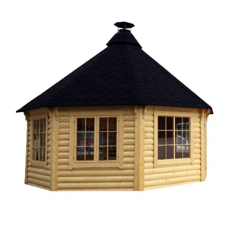 casetta da giardino in legno casetta da giardino in legno nefele 216 5 09 x h 3 8 m con