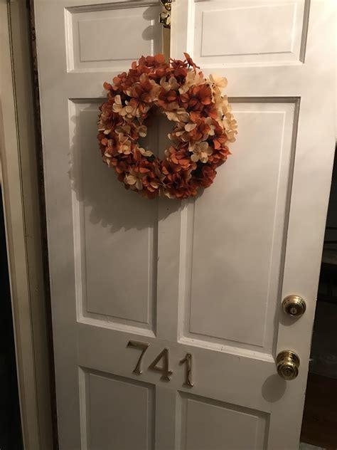fall wreath  front door easy   wreaths
