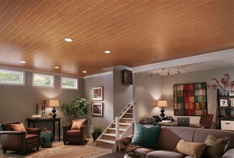 White Wood Ceiling Planks by Wood Look Ceiling Planks Ceilings Armstrong Residential