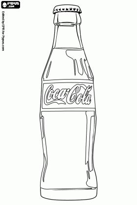 can soda such as cola color your hair coca cola bottle coloring page coca cola coloring pages