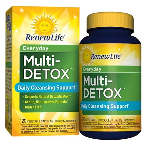 Renew Everyday Multi Detox renew everyday multi detox daily cleansing support