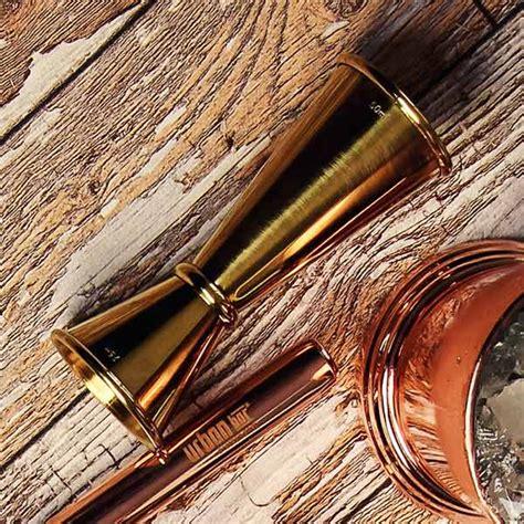 Ginza Jigger Gold bar gold plated ginza jigger measure japanese style jigger thimble measure buy at