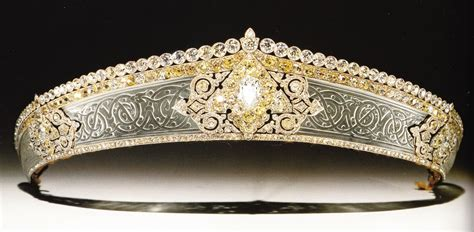 rok tiara de gunsburg tiara 1912 made by cartier rock