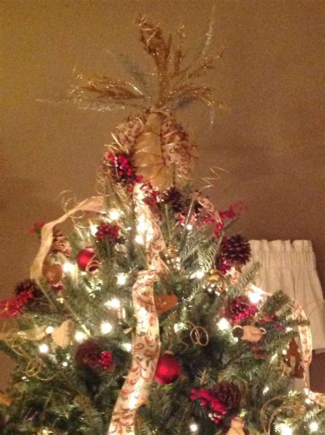 tree topper christmas decorating ideas pinterest