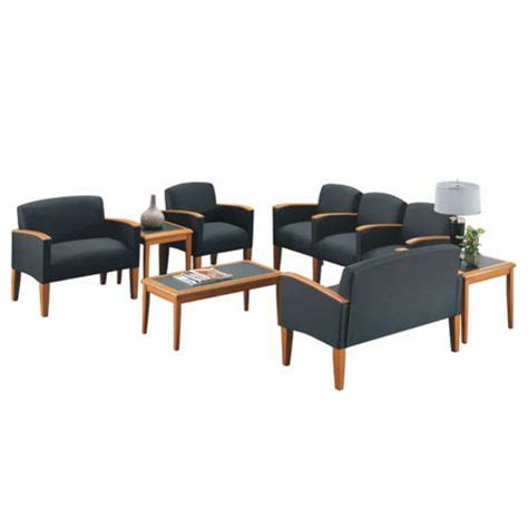 office reception furniture sets belmont reception set w matching tables by lesro