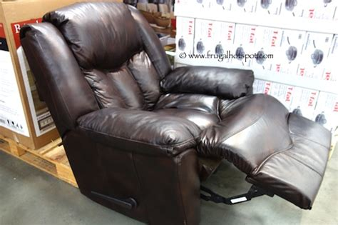 costco recliners for sale costco sale franklin bristol all leather recliner 399 99