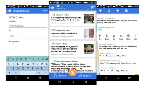 google design reddit androidreamer reddit news beta update brings early