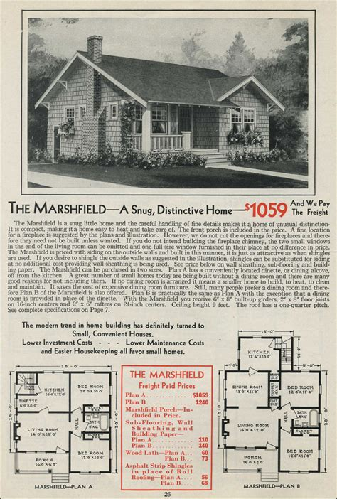 1931 kit home aladdin bungalow the carlton 1931 bungalow cottage aladdin homes the marshfield