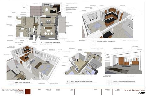 presentation drawing layout robertson walshdesign construction models and drawings