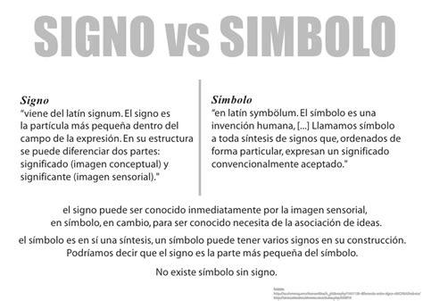 imagenes de simbolos y que significa signo vs simbolo