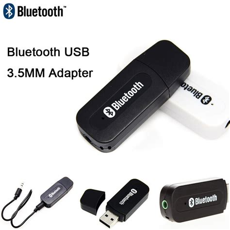Usb Bluethoot Receiver Adapater 3 5 Mm T1910 bluetooth audio receiver 3 5mm usb adapter wireless stereo