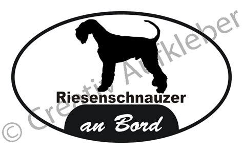 Aufkleber F R Auto Beagle by Riesenschnauzer An Bord Aufkleber Ebay