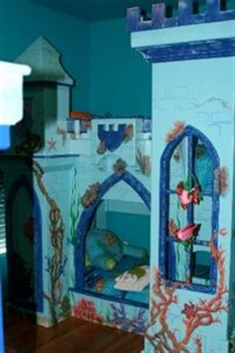 mermaid and finding nemo themed bedroom in a
