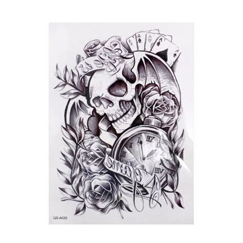 skull and roses tattoos pictures 54 pirate designs and ideas