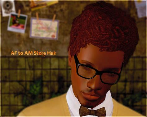 sims 3 african american hairstyles short afro hairstyle by aikea guinea sims 3 hairs