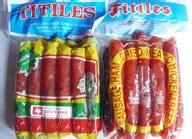Sosis Ayam Titiles 500 Gr titiles sosis oleh oleh khas bali menjual oleh oleh