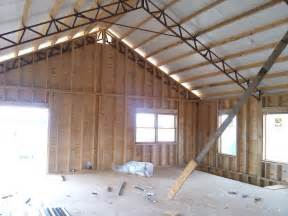 pole barn trusses residential using pole barn metal truss system pole barn