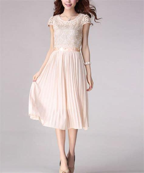 light pink midi dress light pink lace chiffon midi dress pleated midi by