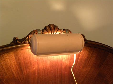 Vintage 1960 S Bed Headboard Reading Light Retro By