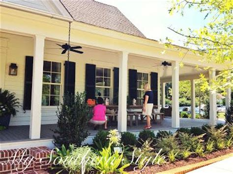 back porch landscaping idea house ideas pinterest