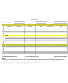 handover checklist template checklist template