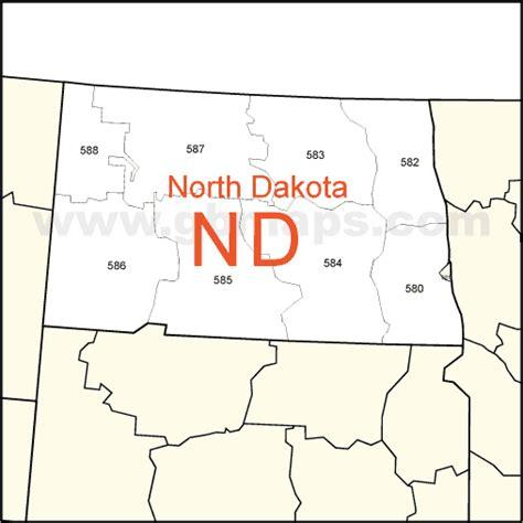dakota zip code map usa zip code and state maps editable maps of america