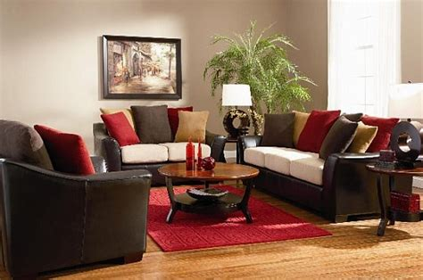 brown and red living room red brown cream inspirations the livingroom pinterest