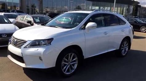 white lexus 2015 white lexus rx 350 awd technology package review