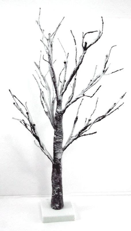 artificial led snowy twig tree just artificial