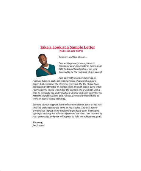 Thank You Letter Graduation 9 sle graduation thank you letter free sle