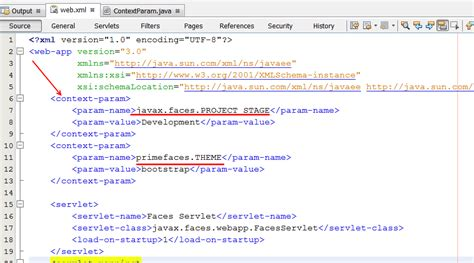 xml tutorial for experienced nascent read value tag in web xml java
