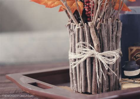 Sticks In A Vase by Make A Vase Out Of Sticks 183 How To Make A Vase 183 No Sew