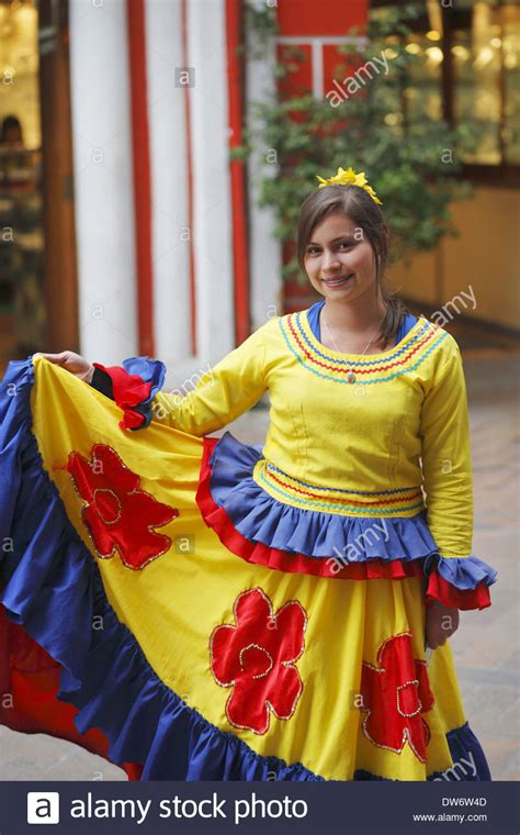 what clothes do venezuelans wear on christmas a wearing traditional dress bogota colombia stock photo 67148941 alamy