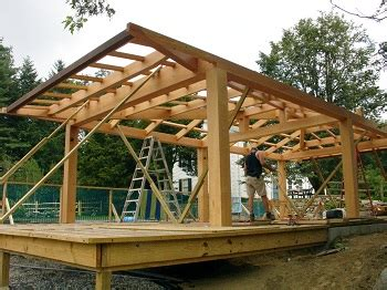 timber skillion roof construction timber frame the building cycle