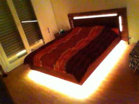 led bed floating led bed youtube