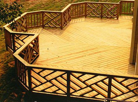 Patio Deck Railing Designs 20 Creative Deck Railing Ideas For Inspiration Hative
