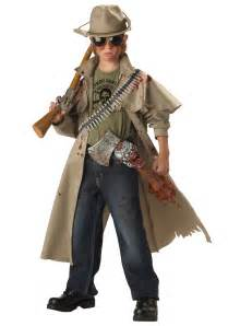 undead halloween costumes child zombie hunter costume